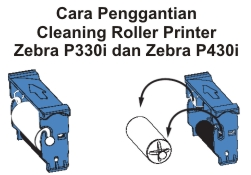 Cleaning Roller Zebra P330i/P430i