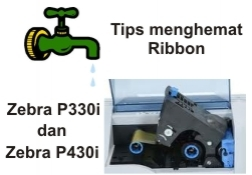 Setting Ribbon Zebra P330i/P430i