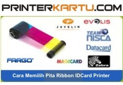 Memilih Ribbon Printer ID Card