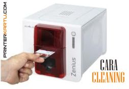 Cara Cleaning Evolis Zenius
