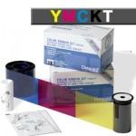 Ribbon YMCKT-KT datacard sd360
