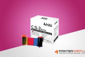 Ribbon HITI CS300 Full Color (YMCKO)