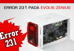 Error 231 pada Evolis Zenius