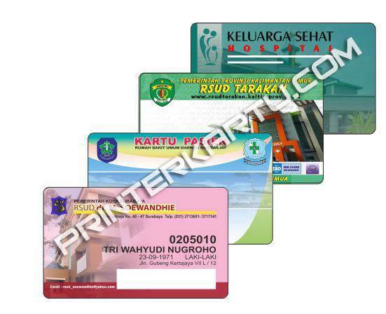 Kartu Rumah Sakit_Kartu Pasien_Cetak ID Card_Cetak ID Card Surabaya_cetak Kartu