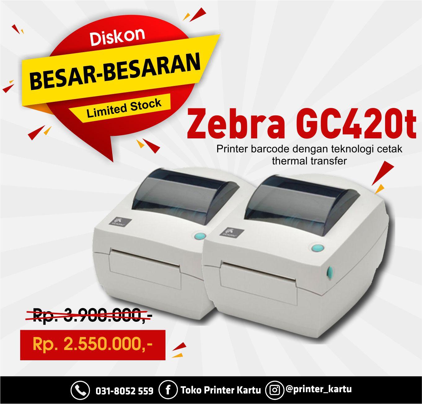 Zebra GC420T
