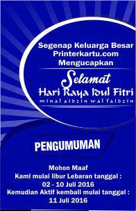 Promo Ramadhan Printer Kartu