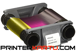 CBGP0100C Ribbon Color YMCKO Evolis Badgy_1