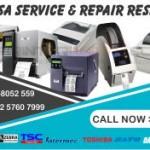 Service Printer Barcode