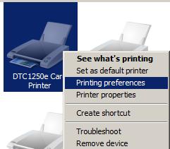 Klik kanan pada icon