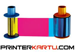 Ribbon Color YMCKO Fargo DTC1500