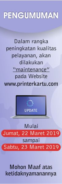 Maintenance Printer Kartu