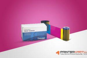 [PN: 534000-002] Ribbon Datacard SP25 Plus YMCKT Colour Ribbon
