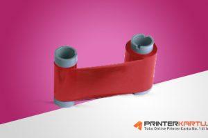 [PN: 552954-504] Ribbon Datacard SP35 Plus Red Ribbon