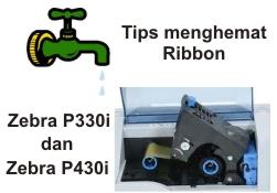 Hemat Ribbon Zebra P330i dan Zebra P430i