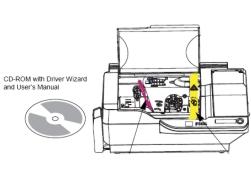 Install Driver Zebra P330i dan Zebra P430i