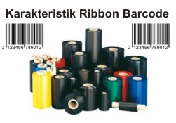 Karakteristik Ribbon Barcode